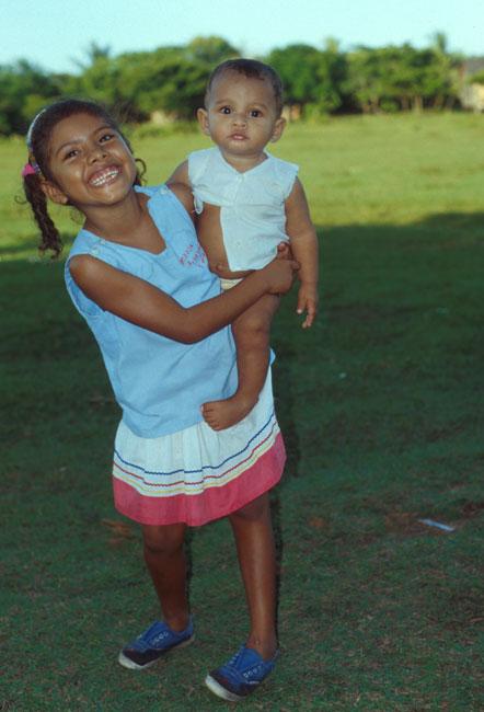 Kinder im Miskito Gebiet