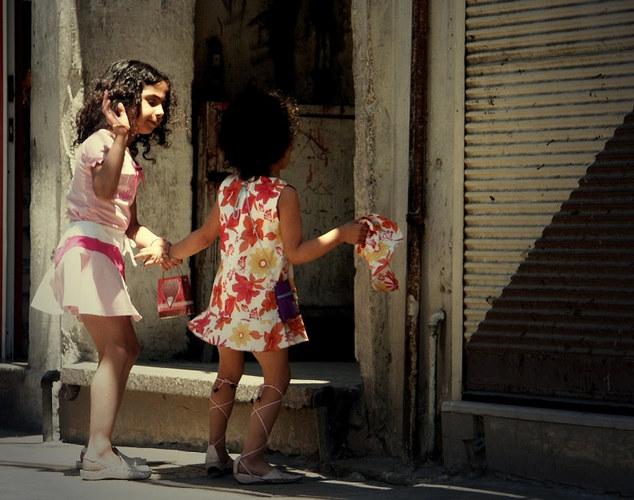 Kinder in den Gassen von Damaskus ...2