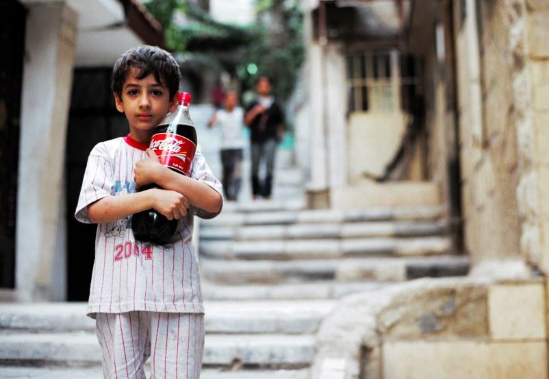 Kinder in den Gassen von Damaskus...4