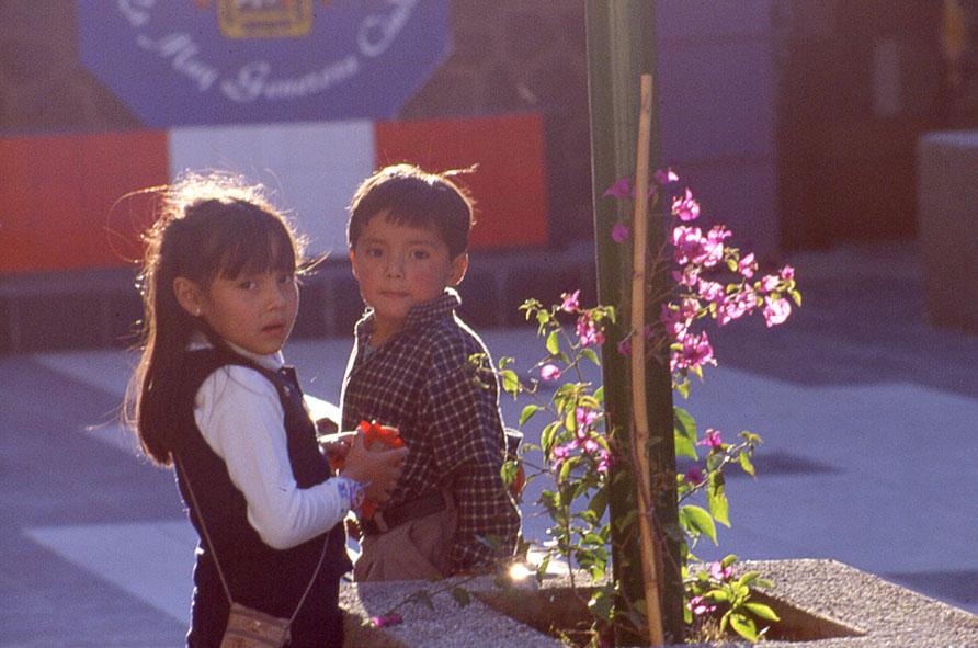 Kinder in Huaraz