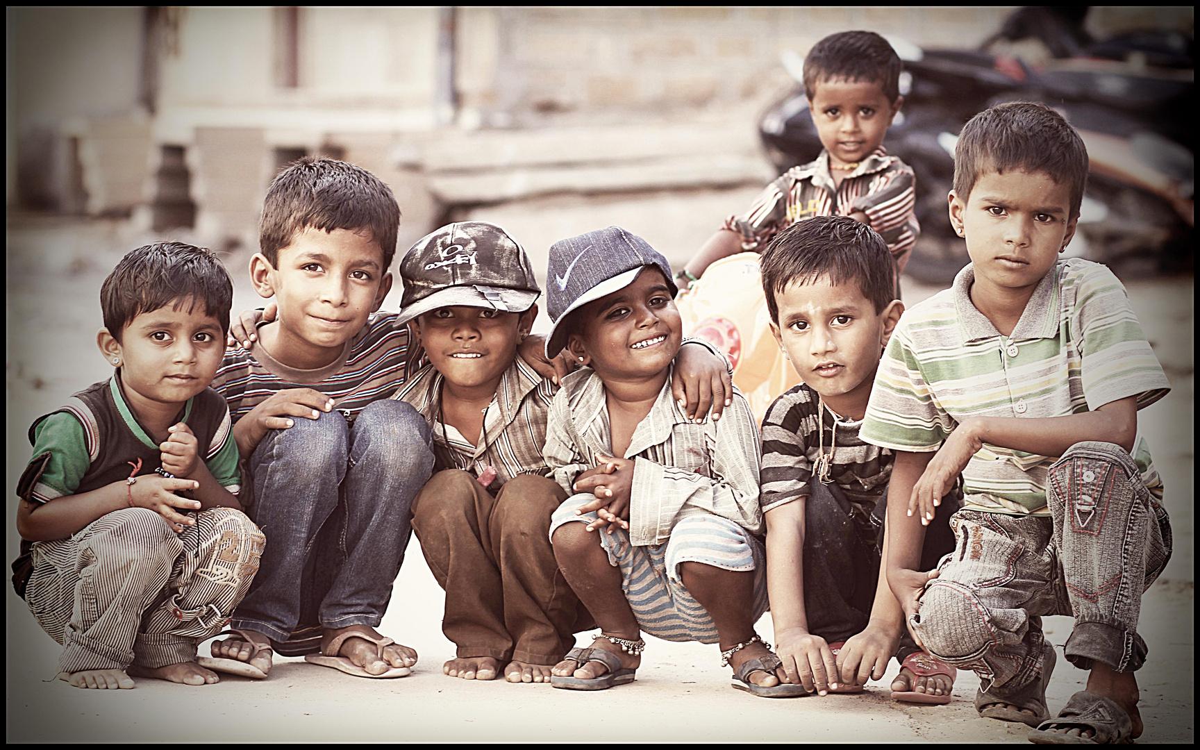 Kinder in Jaisalmer