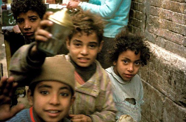 Kinder in Kairo