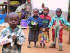 Kinder in Lushoto in den Usambara-Bergen