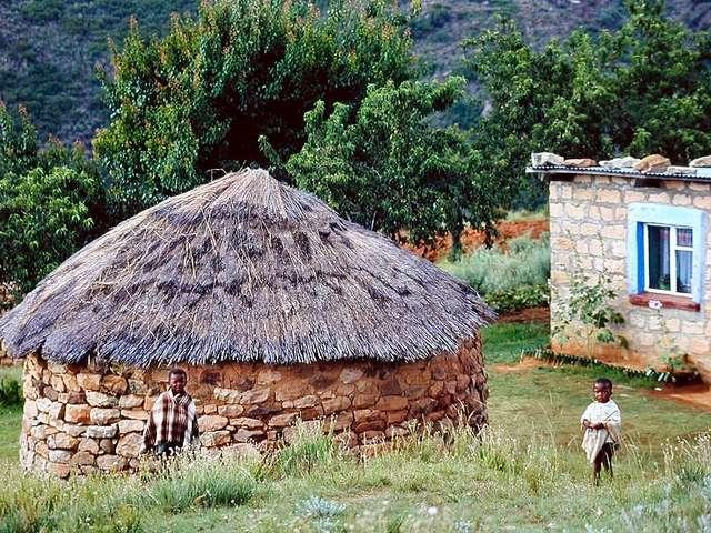 Kinder in Malalealea (Lesotho)