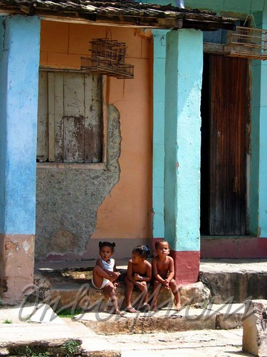 Kinder in Trinidad