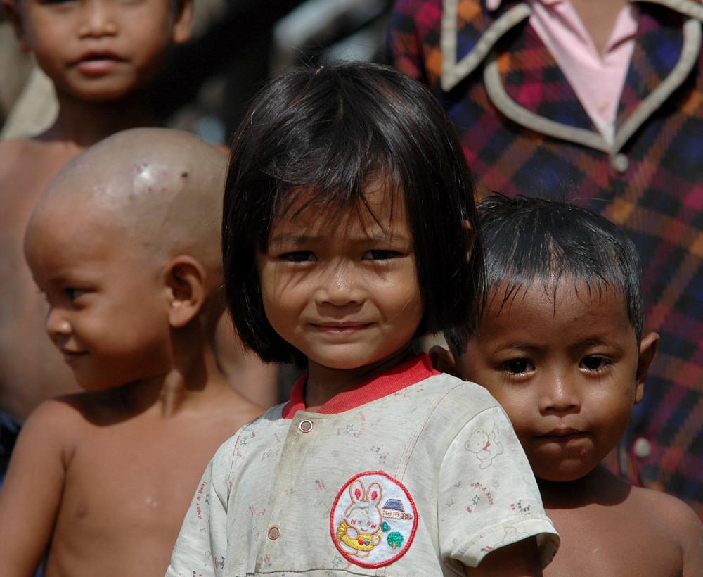 Kinder Kambodschas...