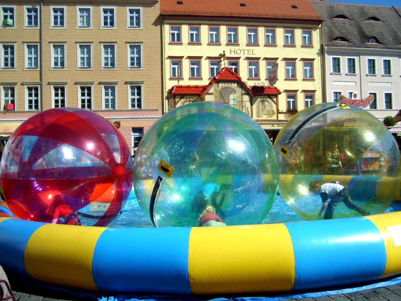 Kinder-Sommer-Sonnen-Spaß beim Stadtfest in Torgau