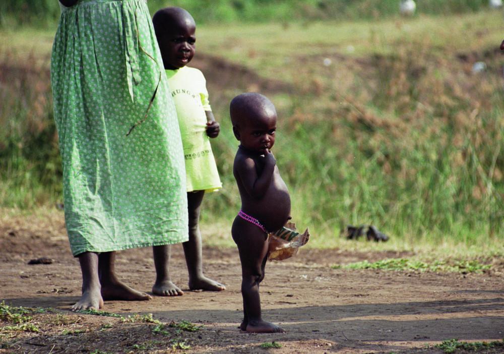 Kinder von Uganda
