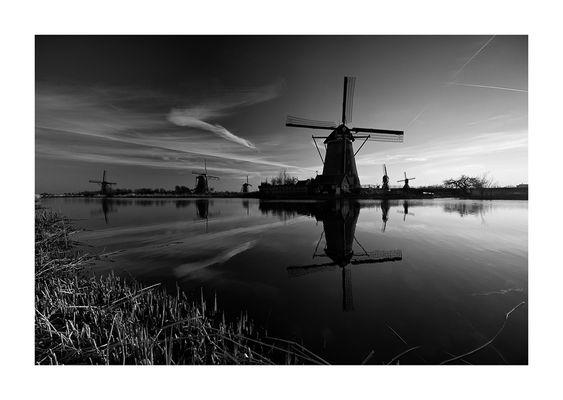 Kinderdijk - Niederlande
