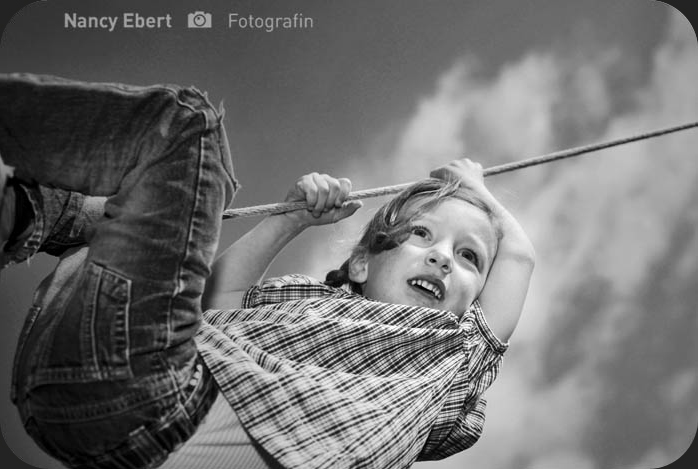 "Kinderfoto ""Pippi Langstrumpf"""