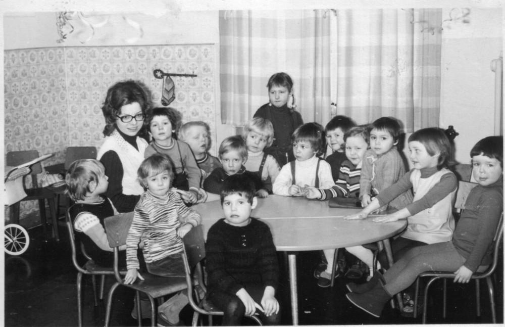 Kindergartengruppe meiner Tochter 1973