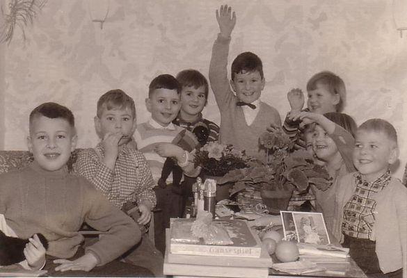 Kindergeburtstag...damals 1964