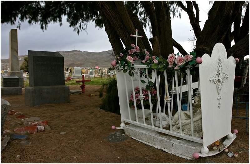 Kindergrab auf dem Concordia El Paso