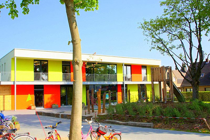 Kindertagesstätte Neuss Reuschenberg Tulpenstrasse.