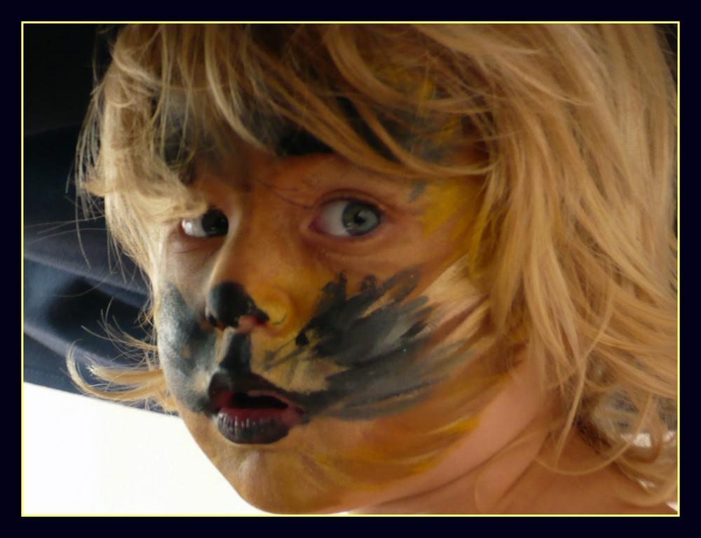 Kindertraum - Ein Löwe sein