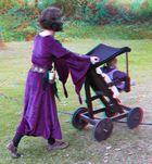 Kinderwagen anno 1504 (3D für Rot/cyan Brille)