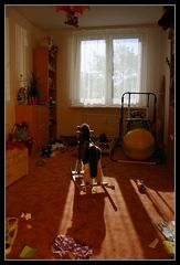 Kinderzimmer nachts