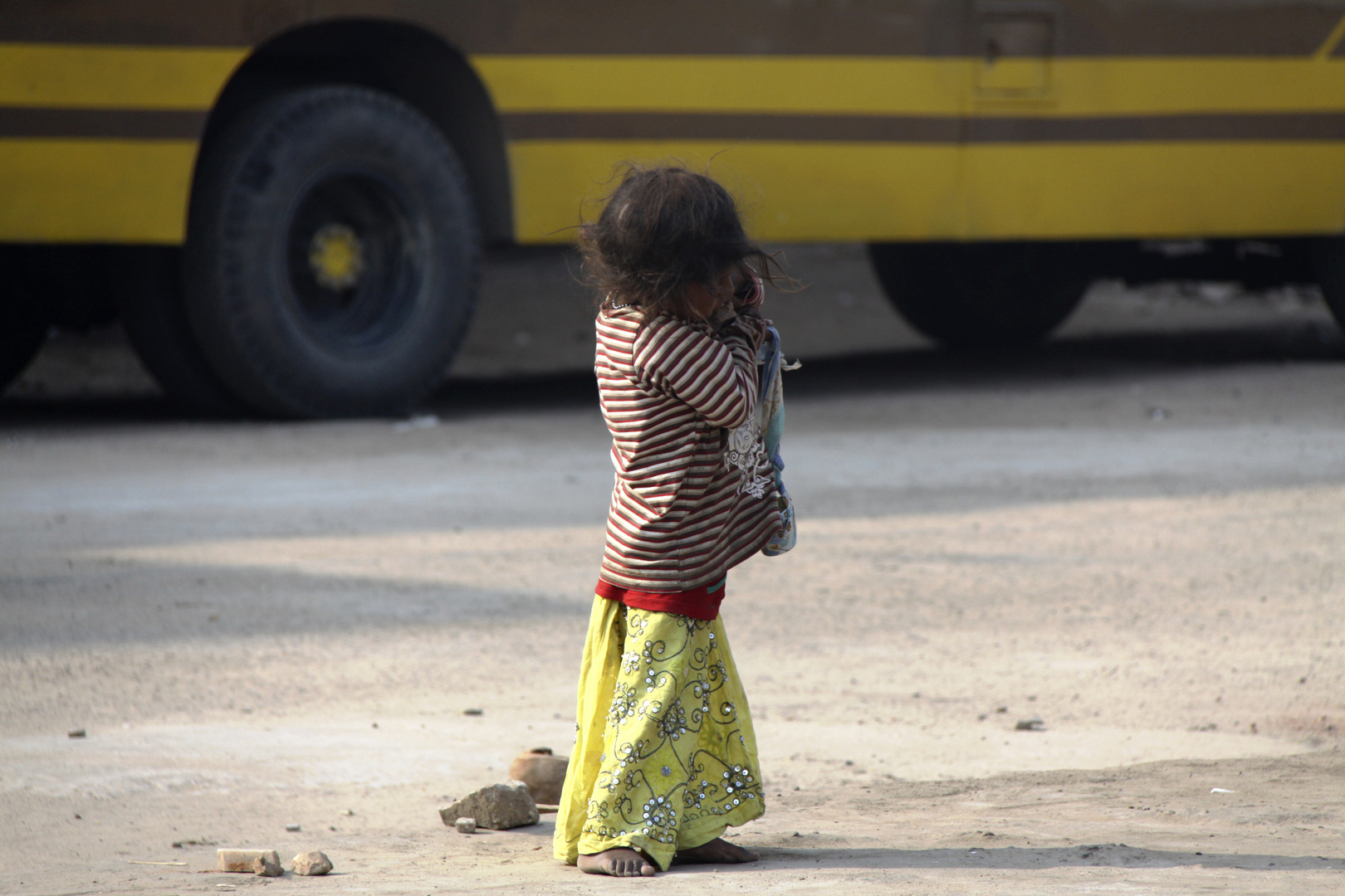 Kindheit in Indien