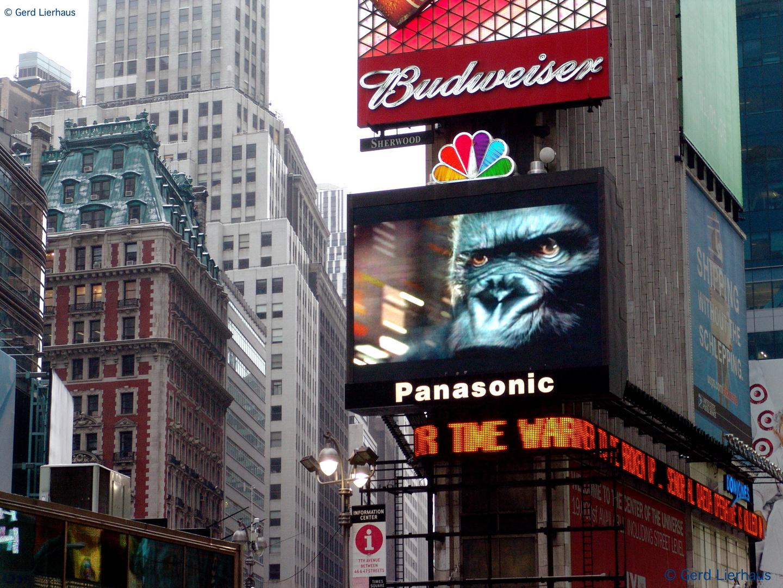 King Kong am Times Square