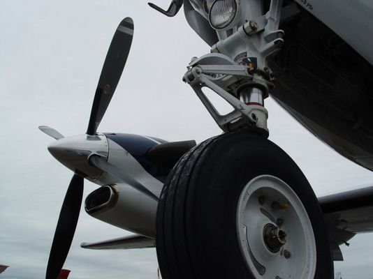 KingAir300 at EDFZ