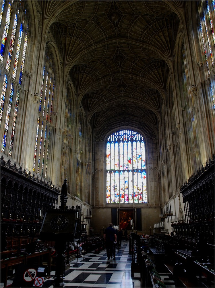 King's College Chapel - Cambridge - diesmlal ohne Lupe