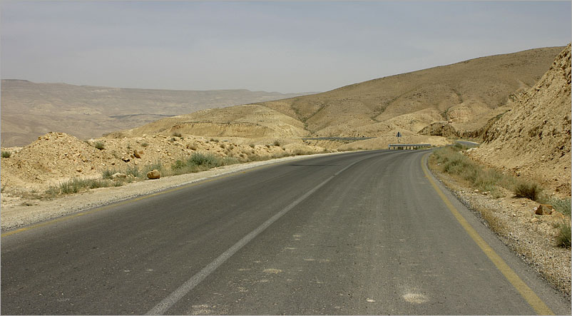 King's Highway - Jordan - my new desktop wallpaper :-)
