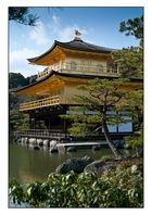 "Kinkaku-ji ""Goldener-Pavillon-Tempel"" in Kyoto"