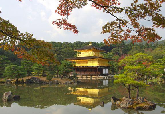 Kinkaku-ji Tempel in Kyoto