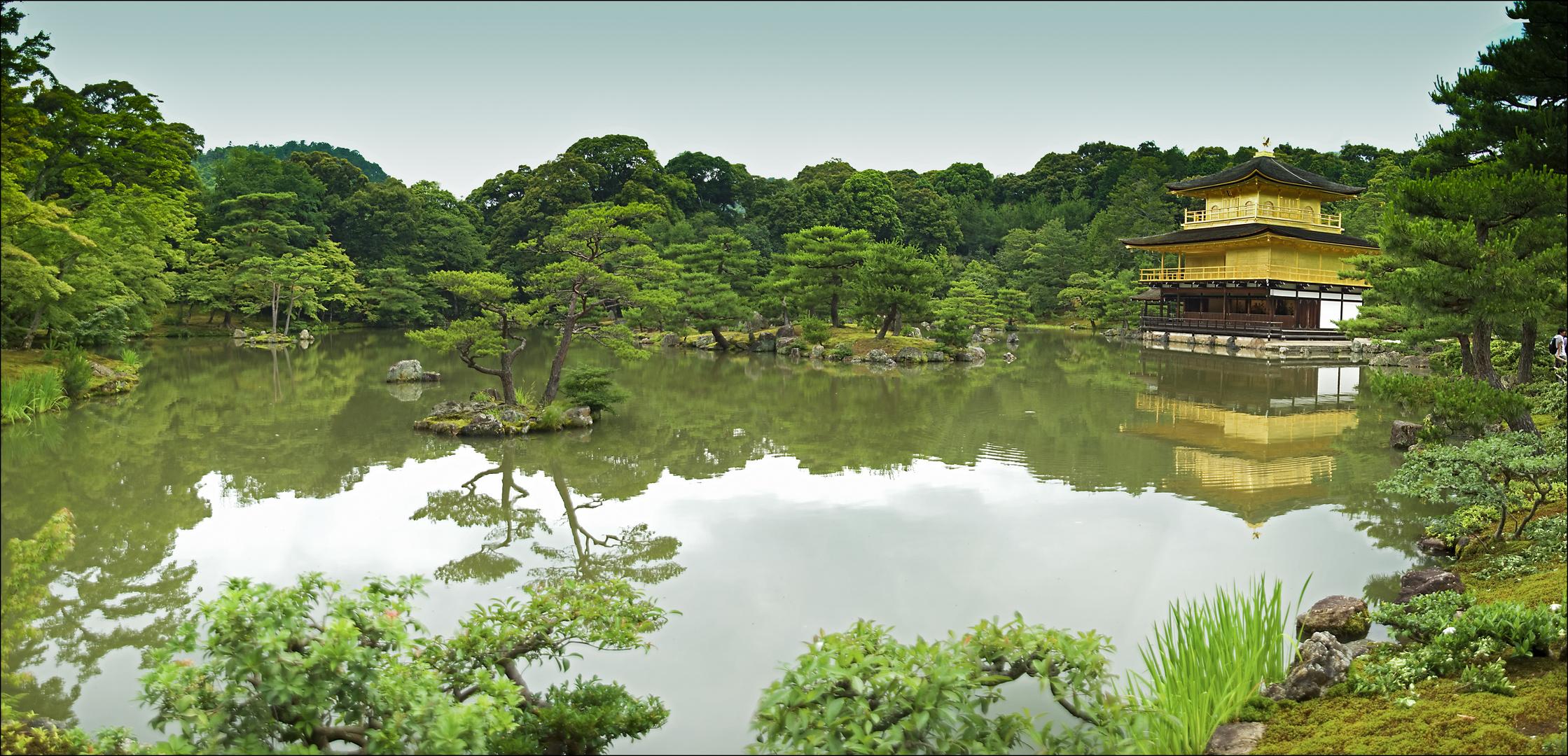 Kinkakuji (Golden Pavilion) in Kyoto