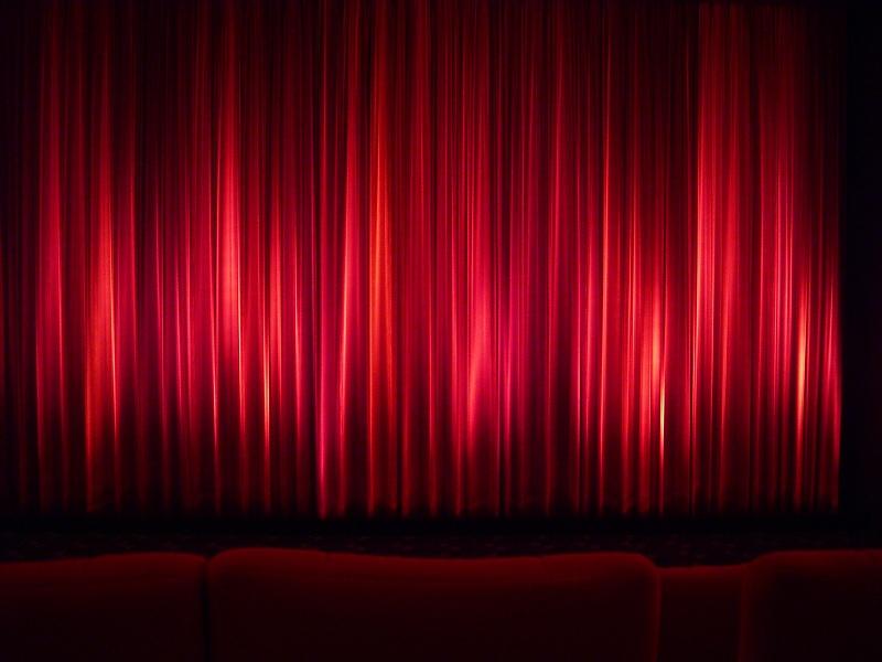 Kino-Vorhang