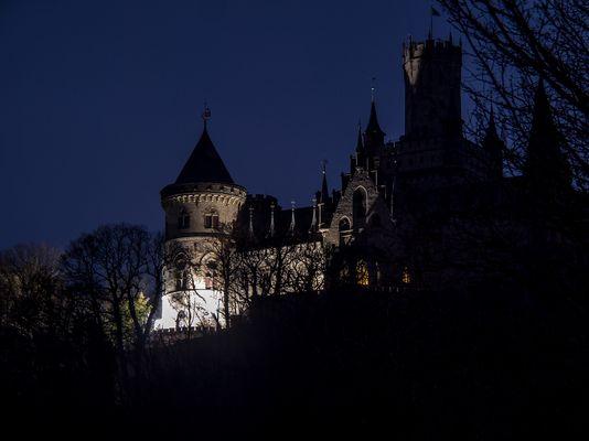 Kinolicht auf der Marienburg