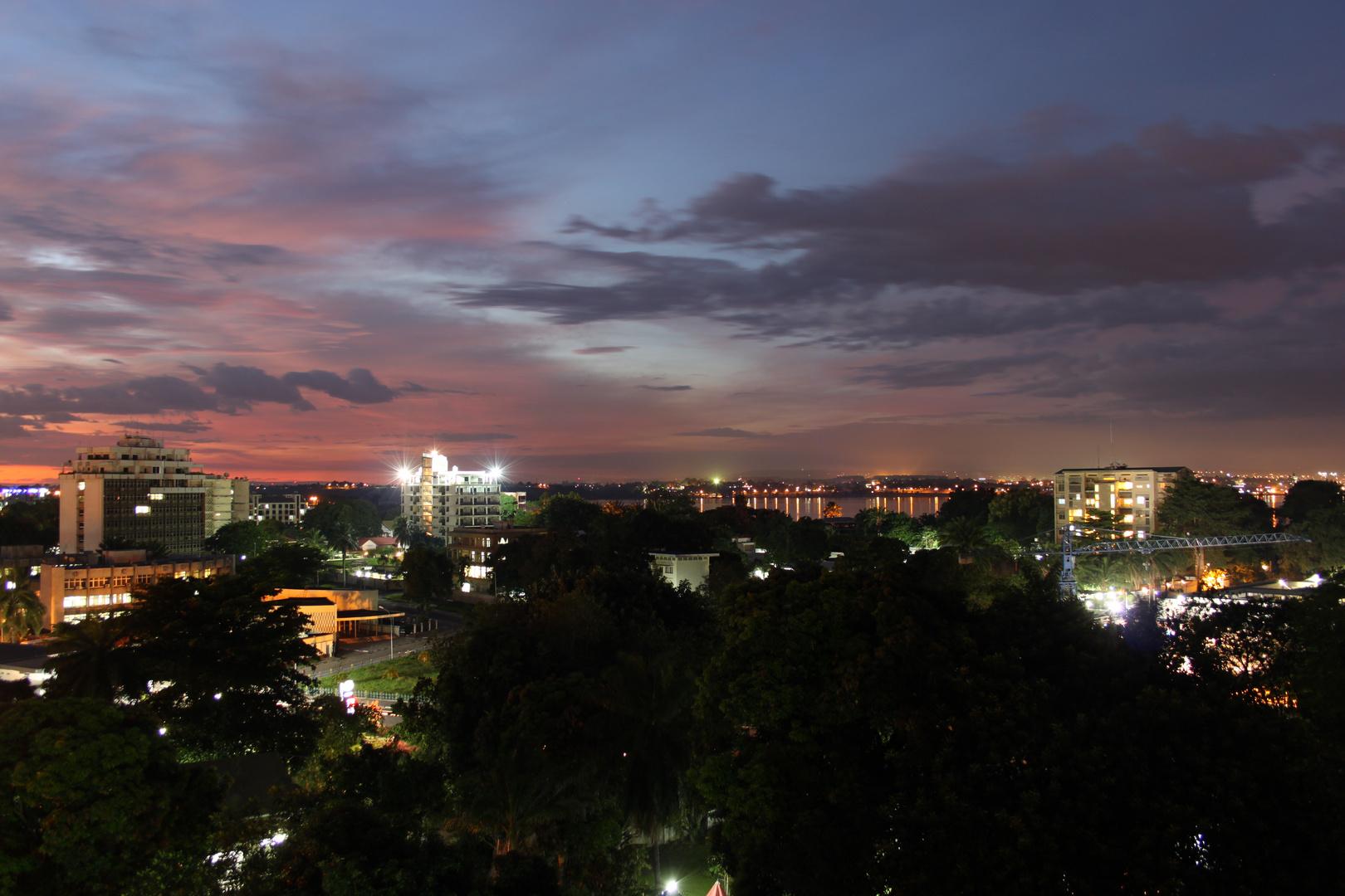 Kinshasa mit Blick nach Brazzaville