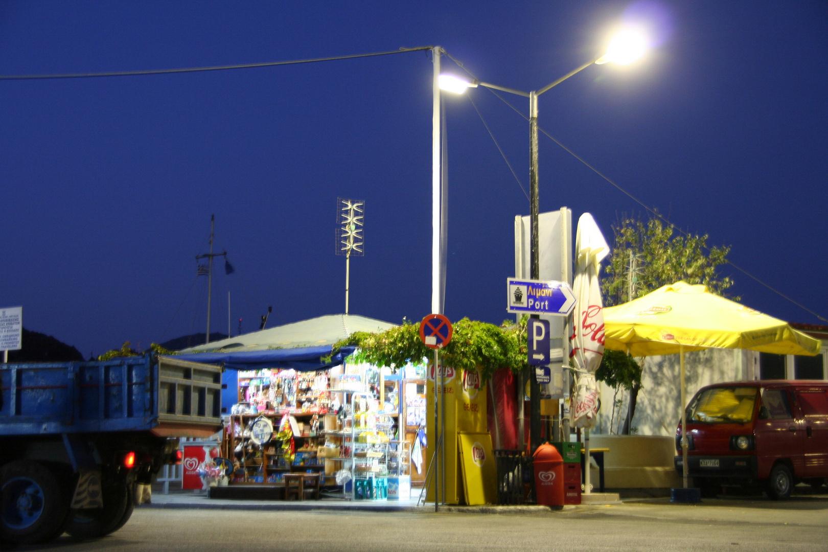 Kiosk am Hafen