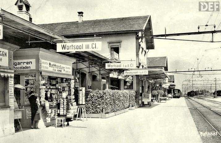 Kiosk Banhof Buchs