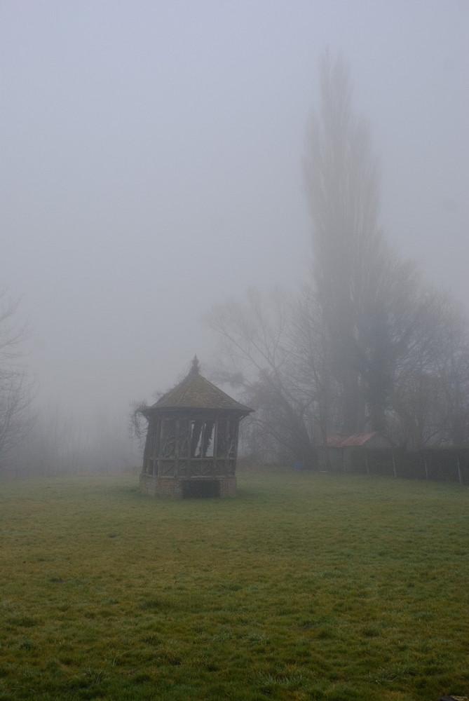 Kiosque sur la commune de Freneuse (76)
