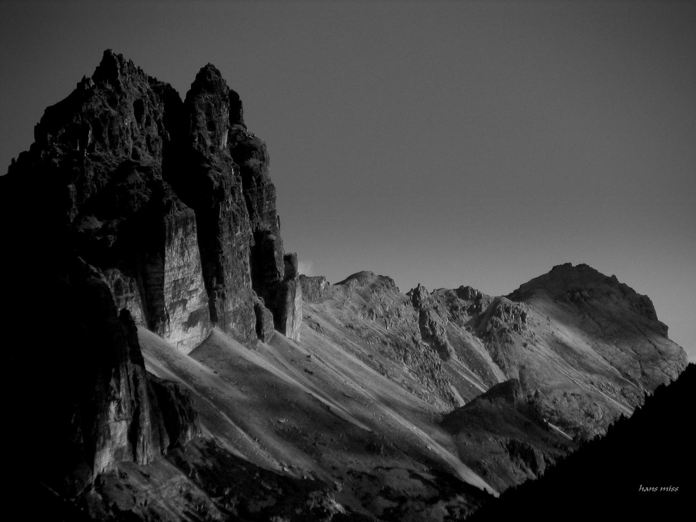 Kirchdachspitze im Pinistal