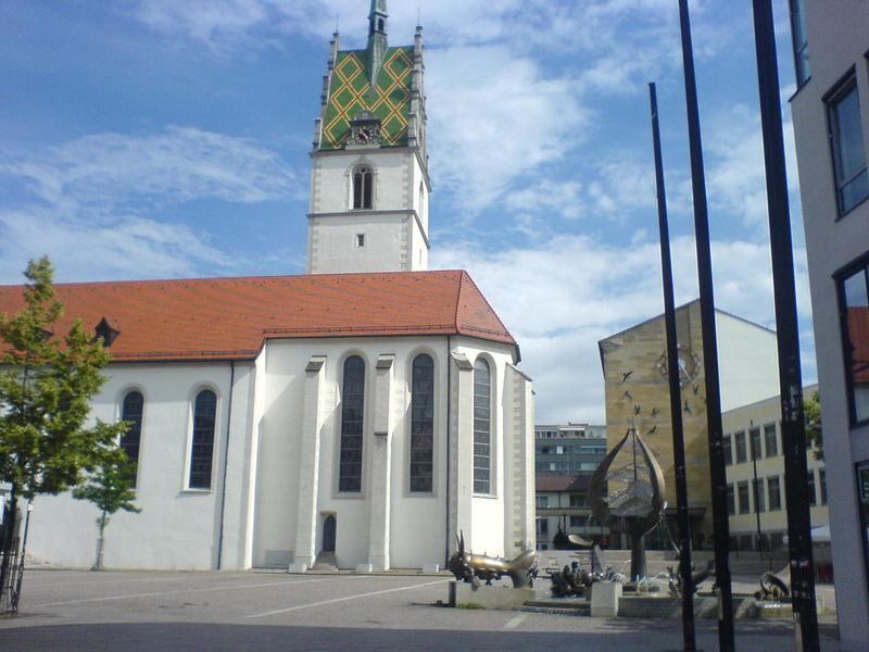 Kirche am Bodensee
