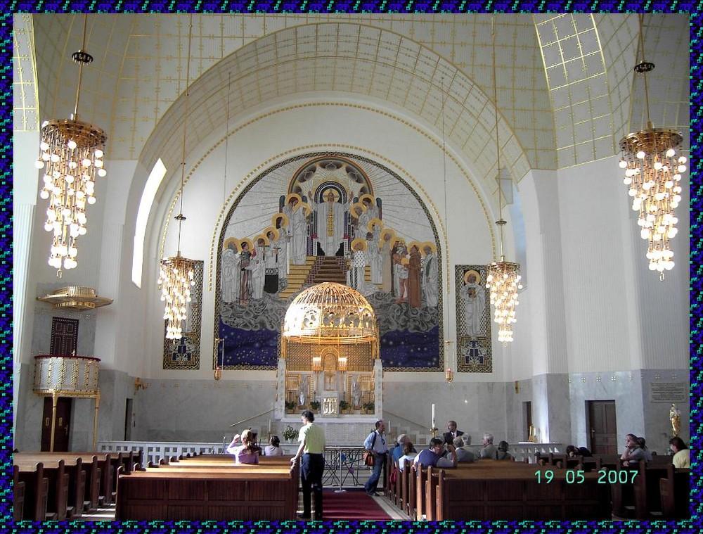 Kirche am Steinhof - Altar