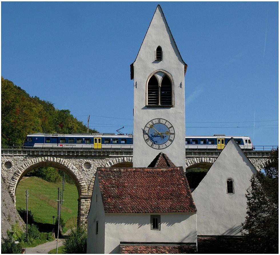 Kirche an der Hauenstein-Strecke