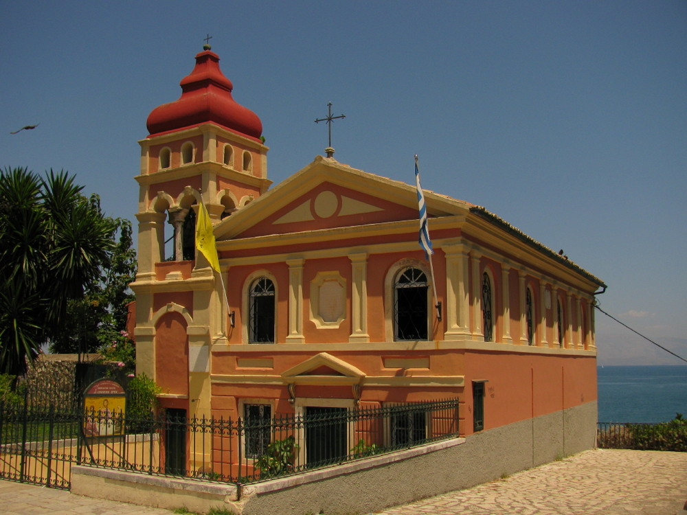 Kirche auf Corfu