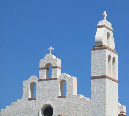 Kirche auf Sardienen