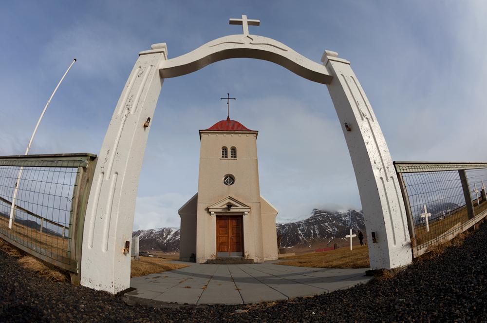 Kirche auf Snaefellsnes - Island #1013