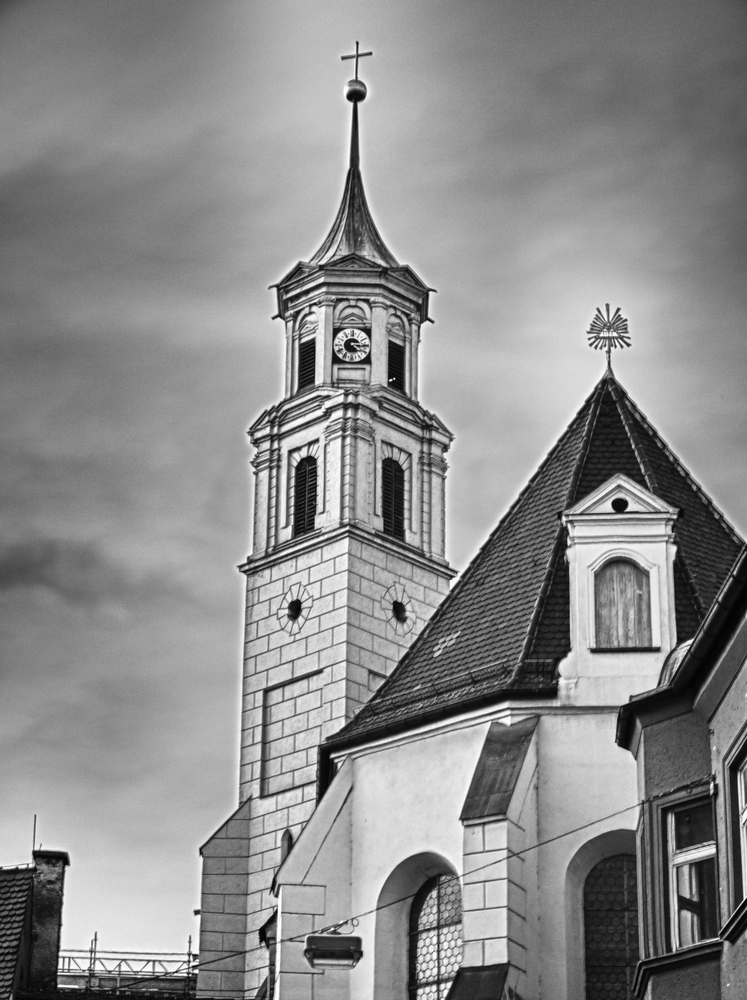 Kirche Augsburg HDR