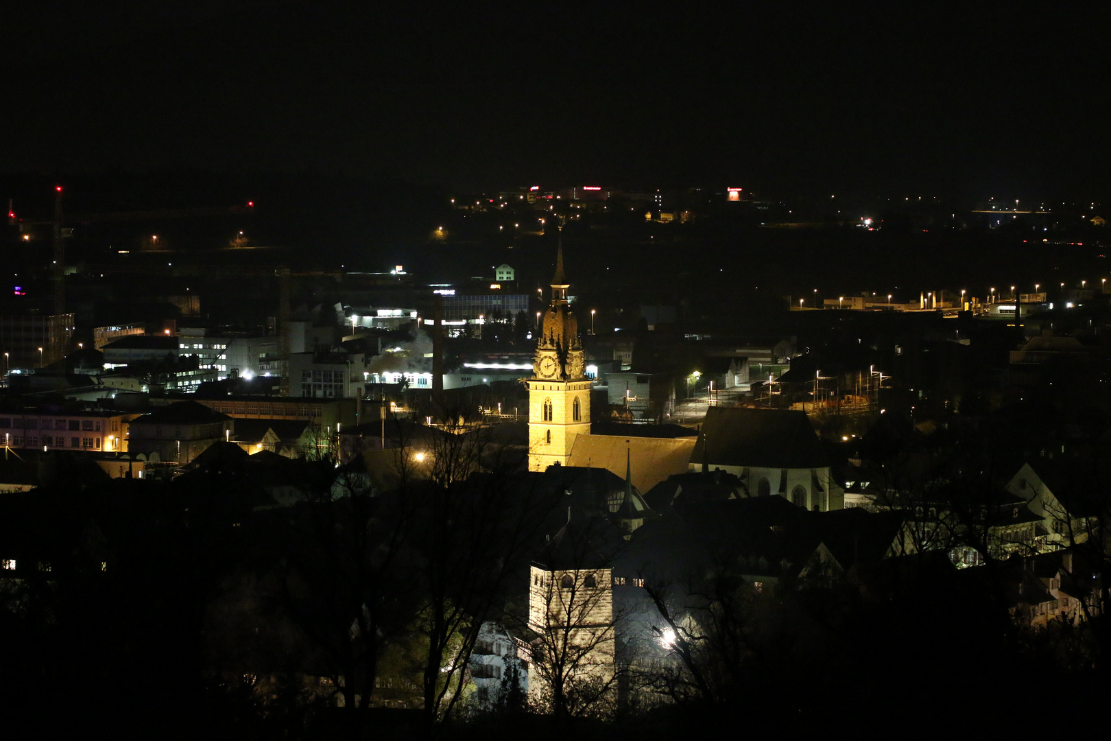 Kirche bei Nacht 2