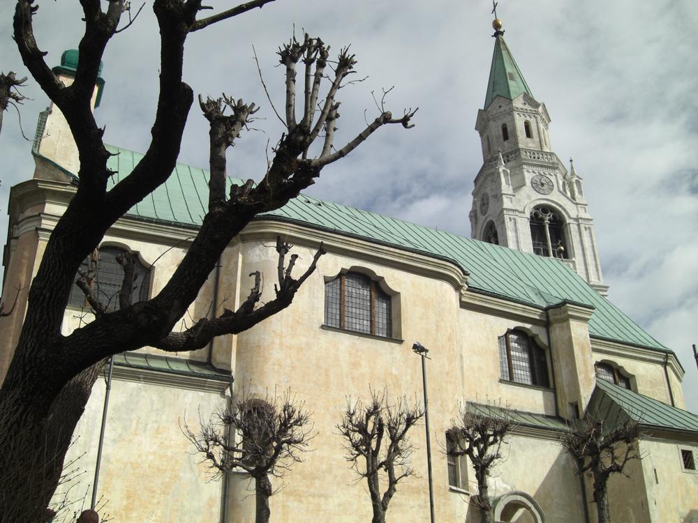 Kirche Cortina d'Ampezzo