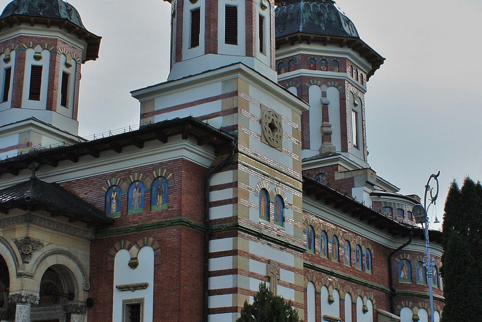 Kirche des Klosters Sinaia in Rumänien
