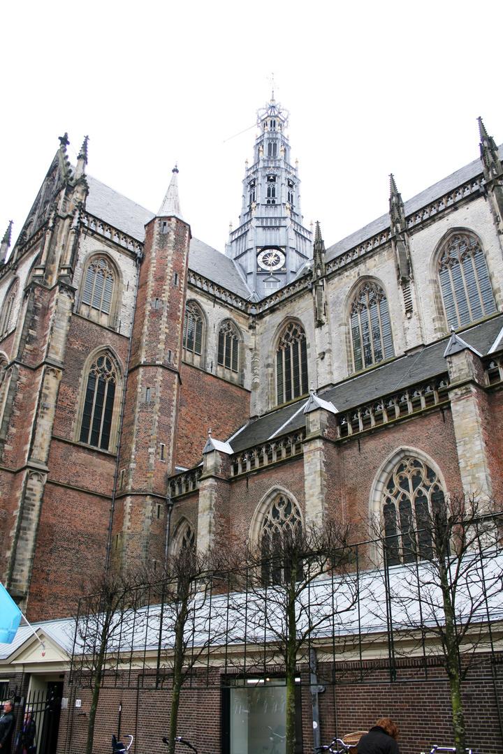 Kirche Dom Kloster Sint Bavokerk in Haarlem (Niederlande) (17.03.2012)(5)