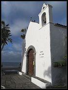 """Kirche """"Ermita de San Juan Bautista"""" auf Teneriffa aus dem 16. Jh. ."""