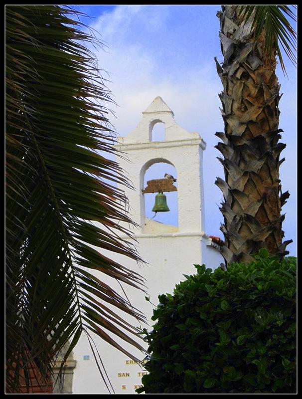 """Kirche """"Ermita de San Juan Bautista"""" auf Teneriffa aus dem 16. Jh. .."""