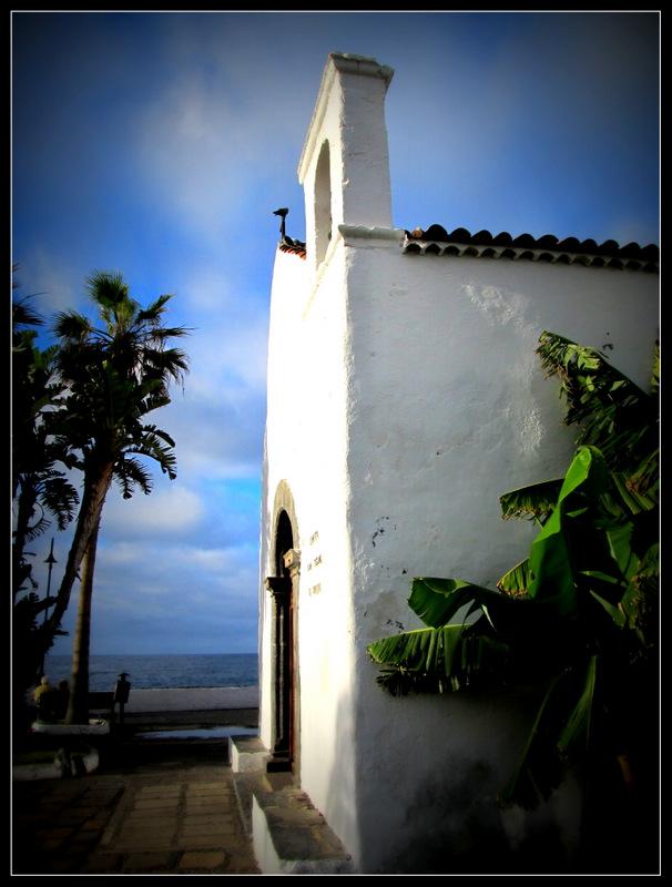 """Kirche """"Ermita de San Juan Bautista"""" auf Teneriffa aus dem 16. Jh."""